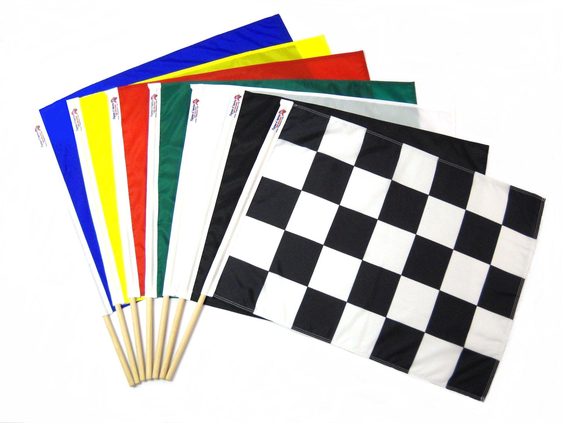 Флаговете в картинг състезанията