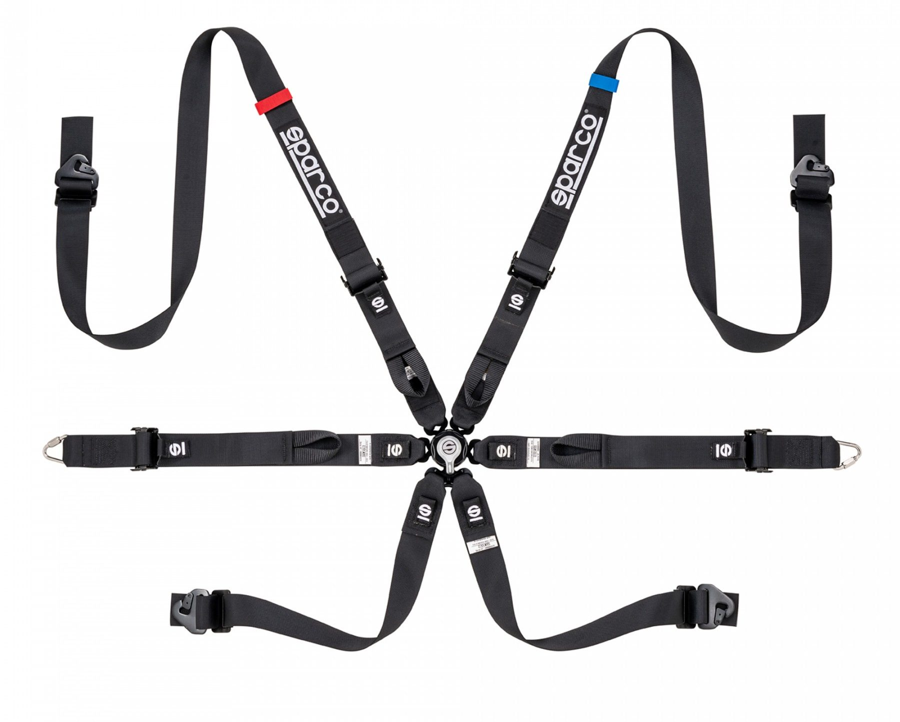 Нов продукт: Sparco Prime H-7, FIA 6-point Harness 2 inch