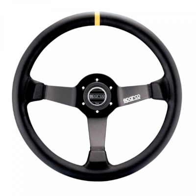 Нов продукт: Sparco R345, FIA Racing Leather Steering Wheel