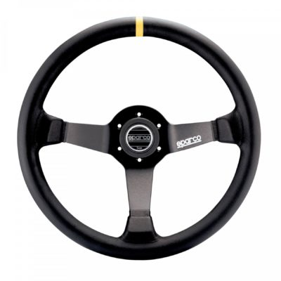 Нов продукт: Sparco R345, FIA Racing Suede Steering Wheel