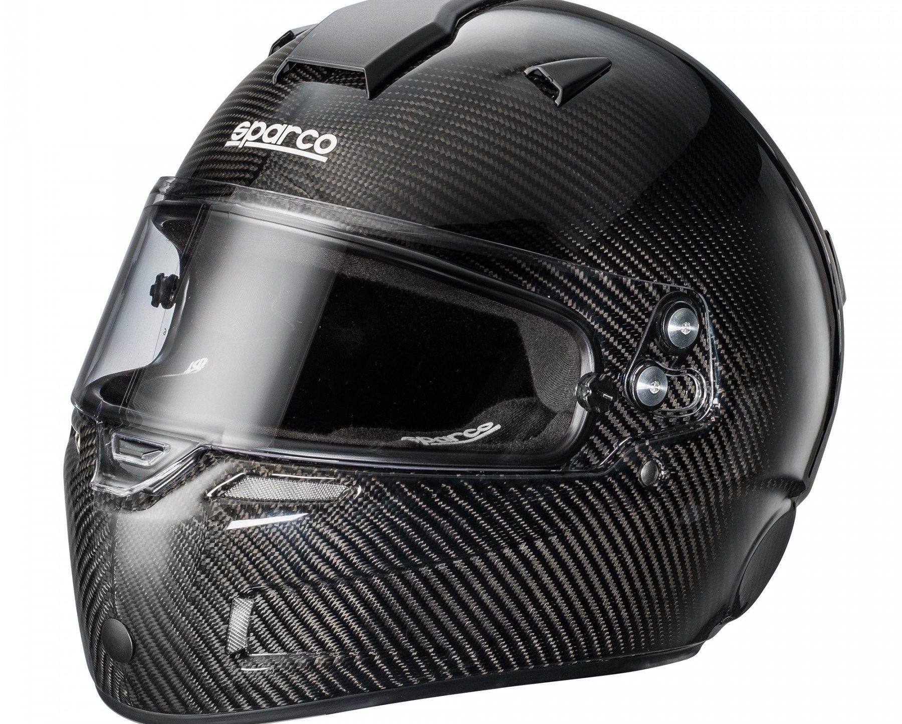 Нов продукт: Sparco Air KF-7W Carbon, Karting Helmet