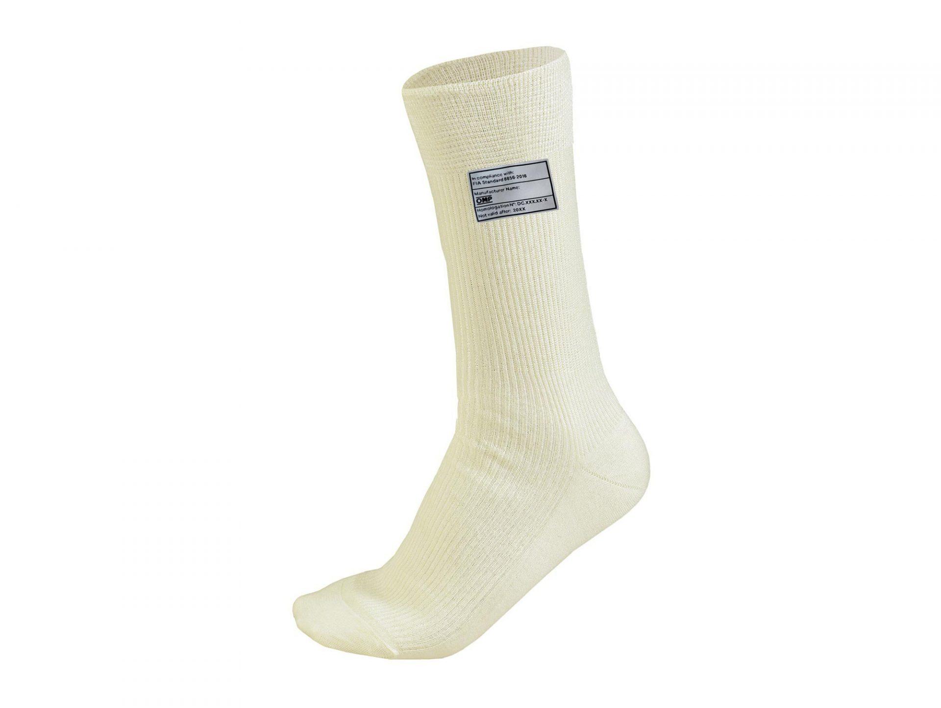 Нов продукт: OMP, FIA, Socks, White