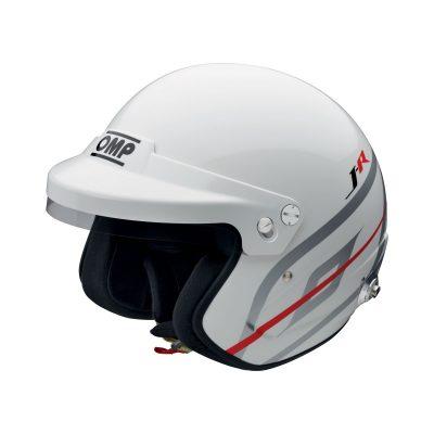 Нов продукт: OMP J-R Hans, FIA Open Face Helmet