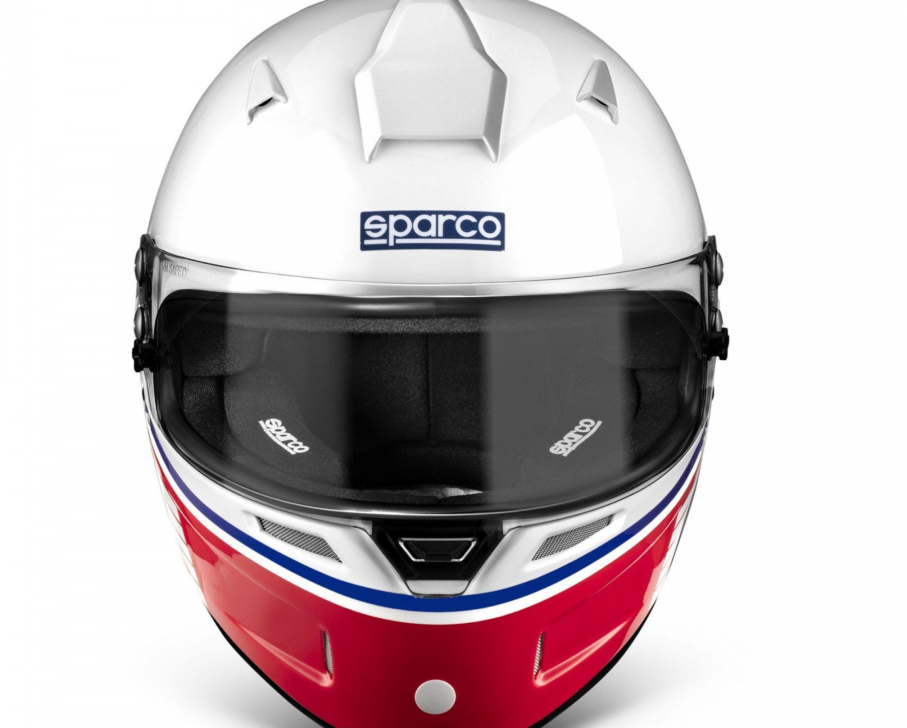 Нов продукт: FIA Sparco Air Pro RF-5W Martini Racing, Racing Helmet, Logo Design