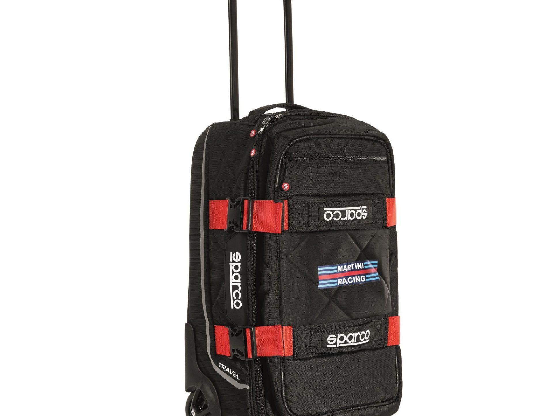 Нов продукт: Sparco Travel Martini Racing, Trolley Bag