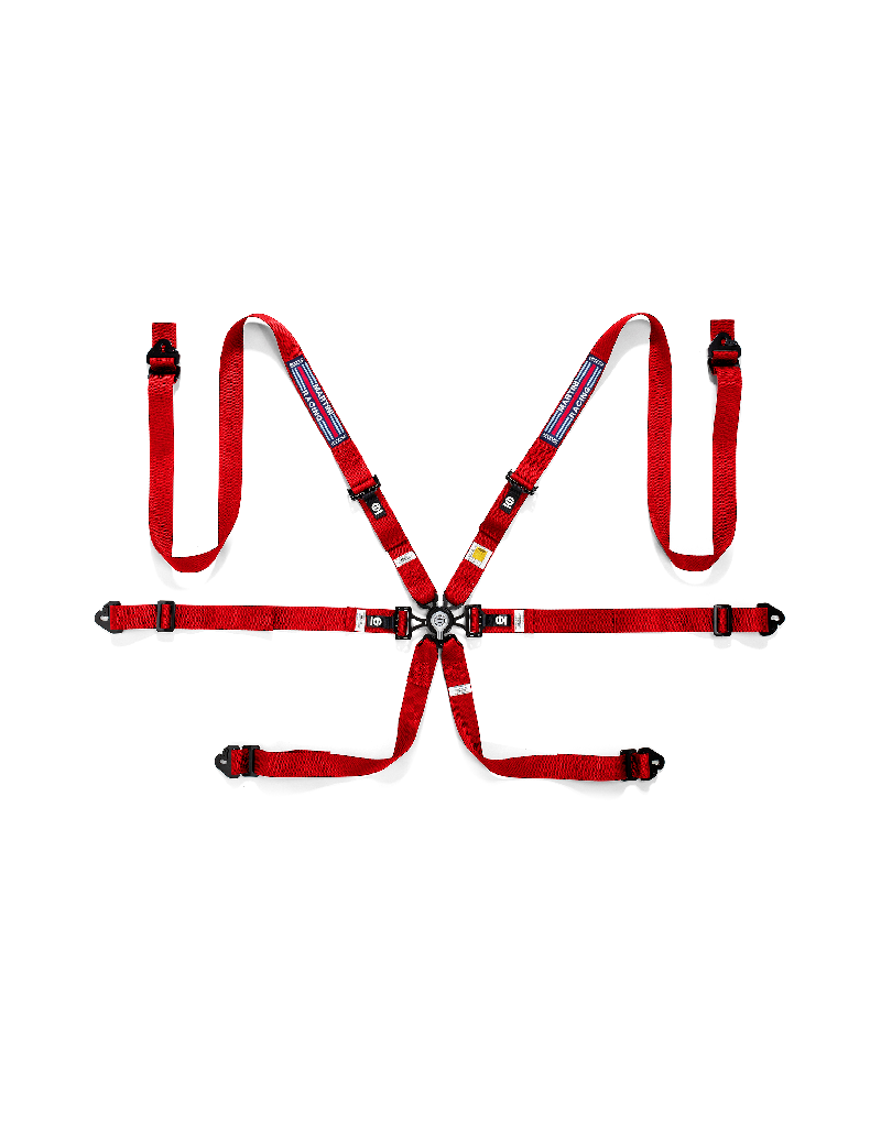 Нов продукт: Sparco Martini Racing 04834HPDMR 6-Point Harness