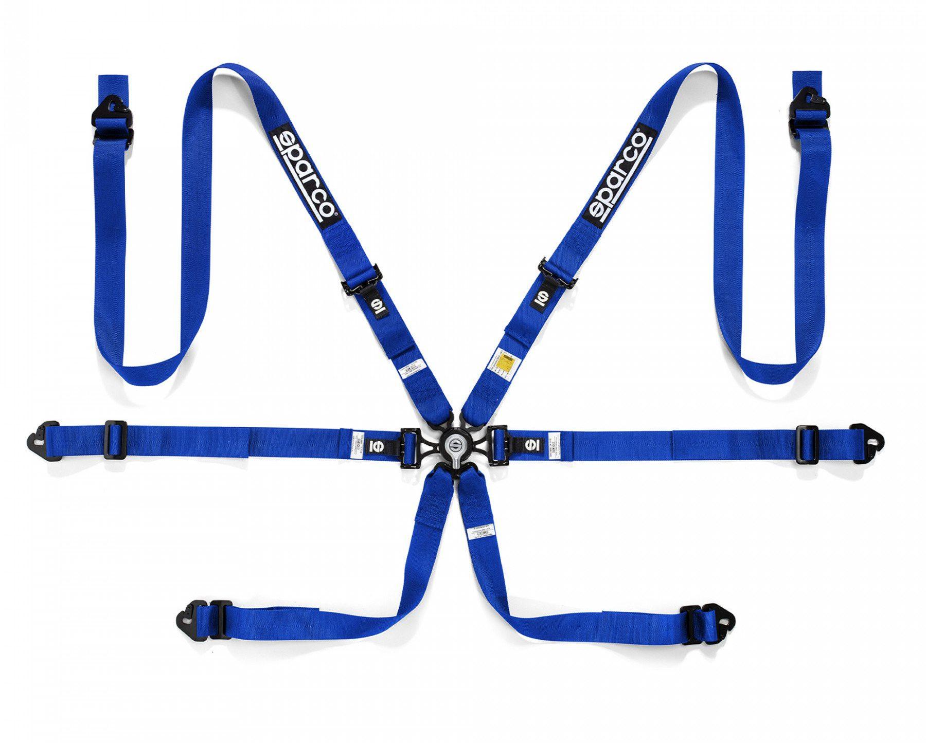 Нов продукт: Sparco 04834HPD, FIA 6-point Harness 2 Inch