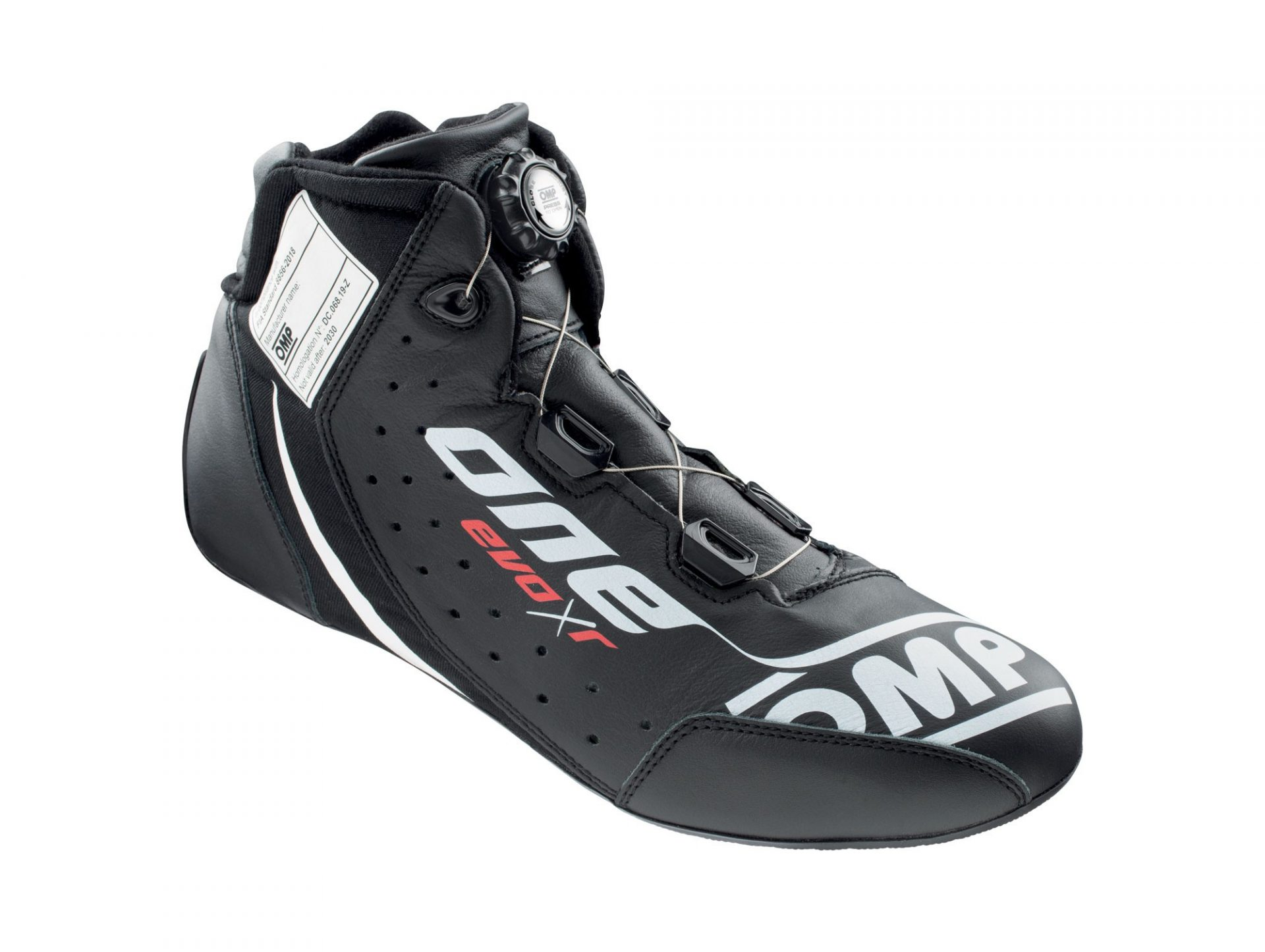 Нов продукт: OMP One Evo X R, FIA Shoes