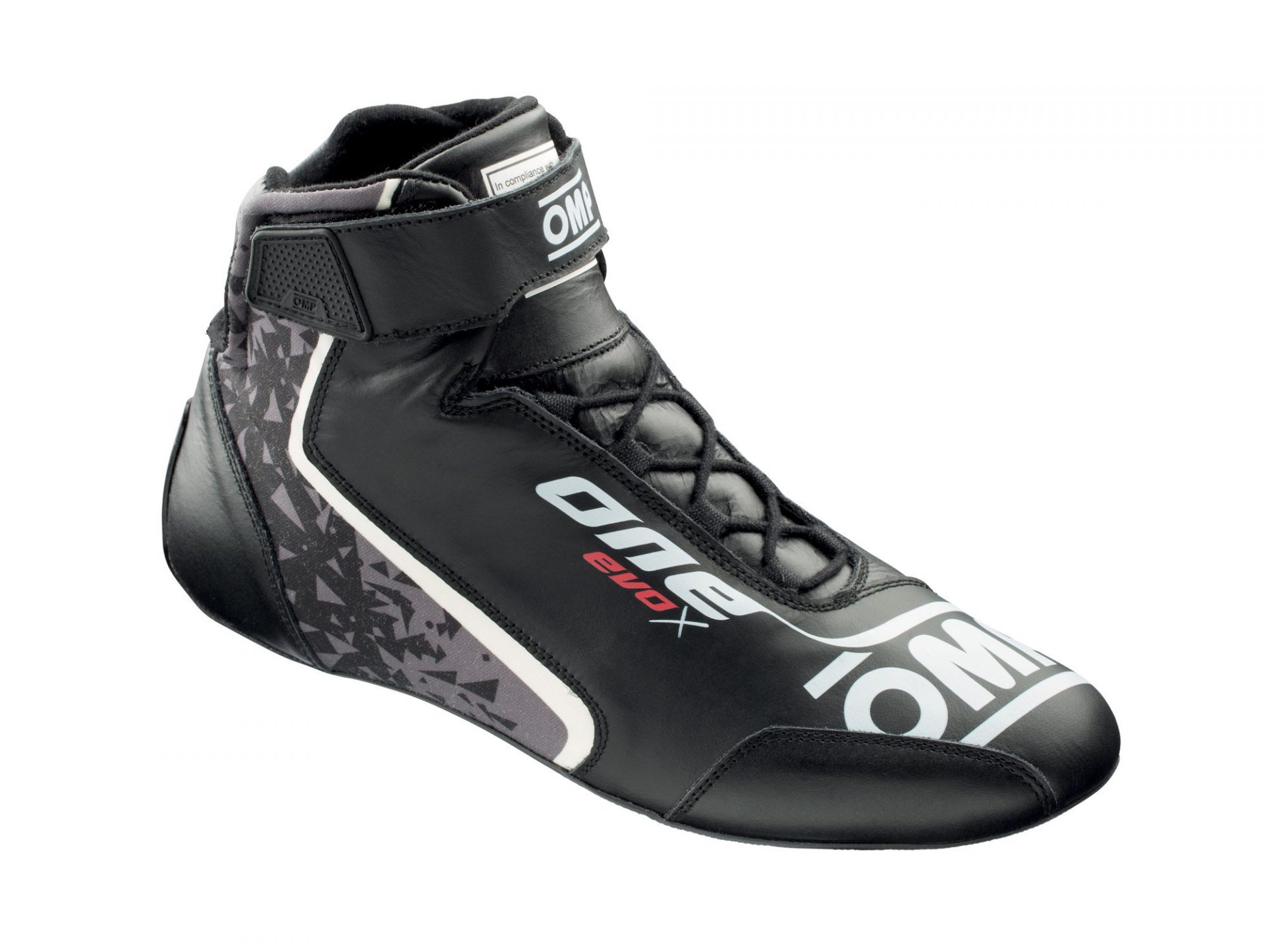Нов продукт: OMP One Evo X, FIA Shoes