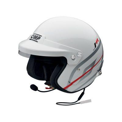 Нов продукт: OMP J-R Hans Intercom Nexus, FIA Open Face Helmet